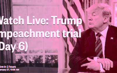View from the Side 20200127: Impeachment Live Blog
